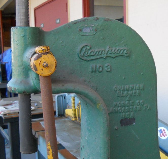 Show us your arbor press! - The Garage Journal Board