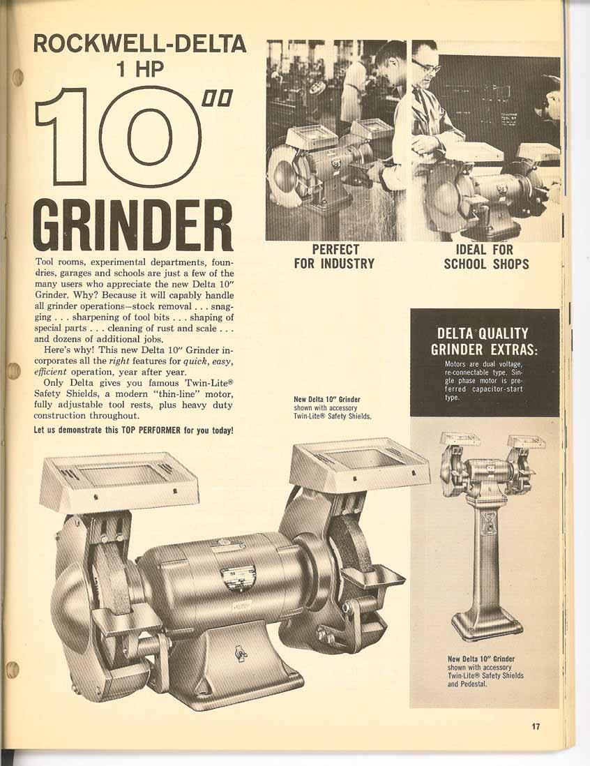 Rockwell Bench Grinder Wiring Diagram Delta Vintage The Garage Journal Boardrh